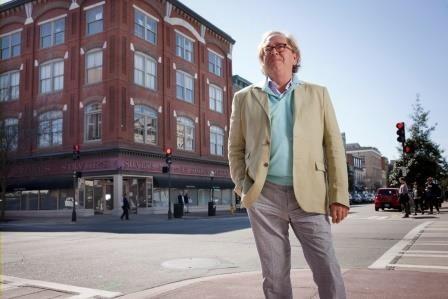 Ben Carter on Broughton Street