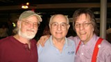 Bill Avila today, with Savannah musical vets Roy Swindelle (left) and Skip Hinely.