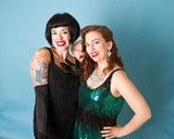 Bonnie Bozell, left, and Megan Jones are seriously into pinup culture.