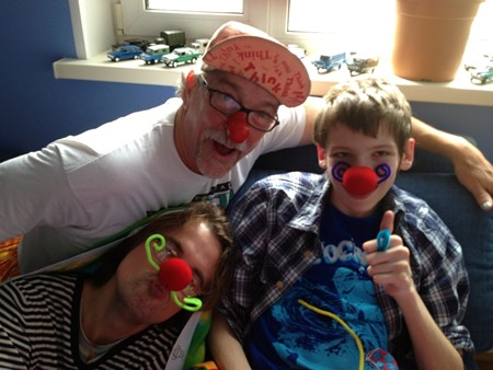Bowen White, M.D., author of Why Normal Isn't Healthy, helps kids with challenging diseases such as cerebral palsy find ways to laugh and be silly as part of their medical treatments.