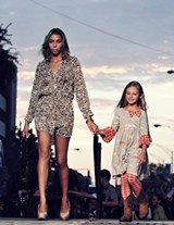Broughton Street becomes a catwalk on Thursday, Sept. 5.