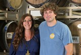 Carly Wiggins and Smith Matthews of Southbound Brewing.
