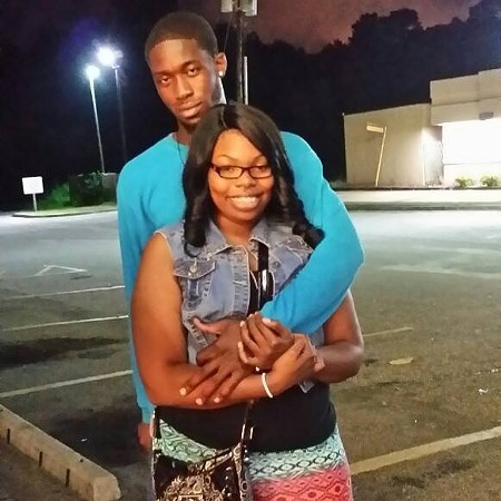 Cedric Jurete Golden, 25, and Deambre Brantley, 23, are alleged to have faked a robbery to take the money themselves.