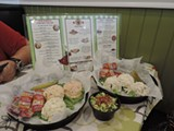 Chicken Salad Chick is already a huge hit immediately after opening.                 Photos by Cheryl Baisden Solis