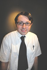 JIM MOREKIS - Chris Heady as Rick Steadman, a.k.a., the Nerd