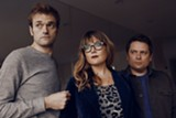 NONESUCH RECORDS - Chris Thile, left, Sara Watkins and Sean Watkins.