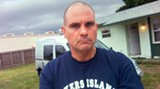 Chuck Sereika at home in Vero Beach, Fla.