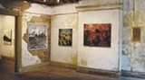 Closing reception for 10 Over the Moon at Moon River is Thursday evening