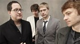 Craig Finn, left. is the singer/songwriter and frontman for The Hold Steady. The band performs in Savannah May 25.