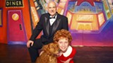 Daddy Warbucks and Annie: Les Taylor and Grace Repella
