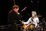 Daniel Hope and Stewart Copeland live onstage at Trustees Theater 3/26/08