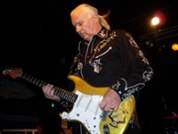 Dick Dale's body is a temple