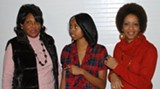 BILL DEYOUNG - 'Diva Daughters Dupree': Vicki Blackshear, left, Jasmine Richardson and Cynthia Chambliss