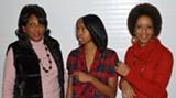 BILL DEYOUNG - 'Diva Daughters Dupree': Vicki Blackshear, left, Jasmine Richardson and Cynthia Chambliss
