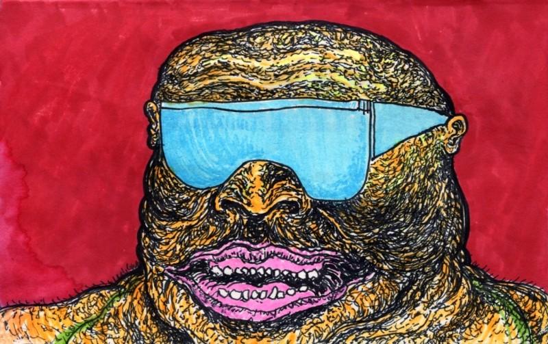 Drawing by Fist City's Gordon Rabut