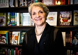 Esther Shaver has been selling real live books on Madison Square since 1976.