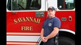 Everyone loves a firefighter on St. Patrick's Day...especially one like Nathan Gaskill