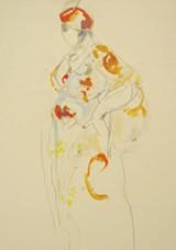 Fashion illustrations by Neil Gilks