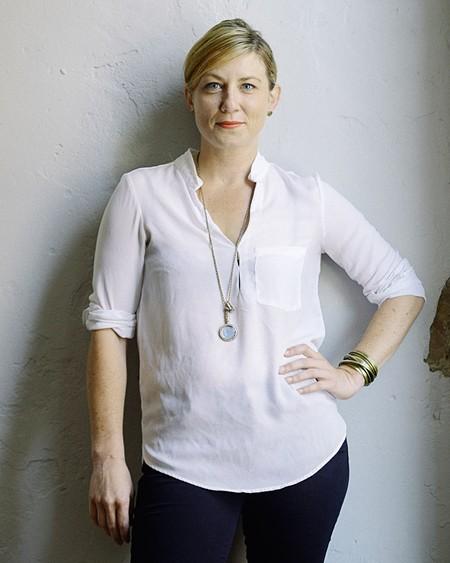 Fashion Night organizer Erin Wessling - CEDRIC SMITH