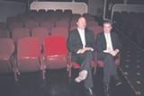 Film Festival Managing Director Len Cripe with Festival Executive Director Danny Filson
