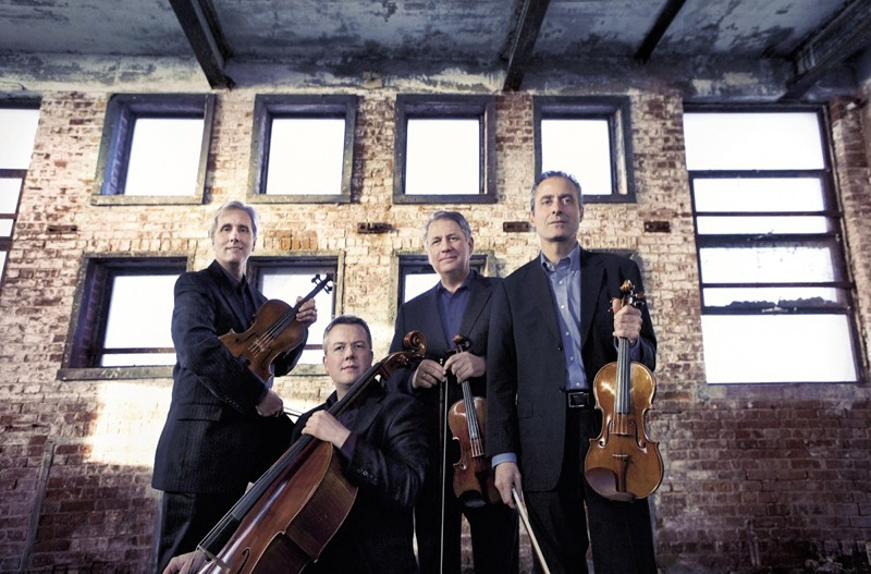 From left: Larry Dutton (viola), Paul Watkins (cello), Philip Setzer & Eugene Drucker (violins).