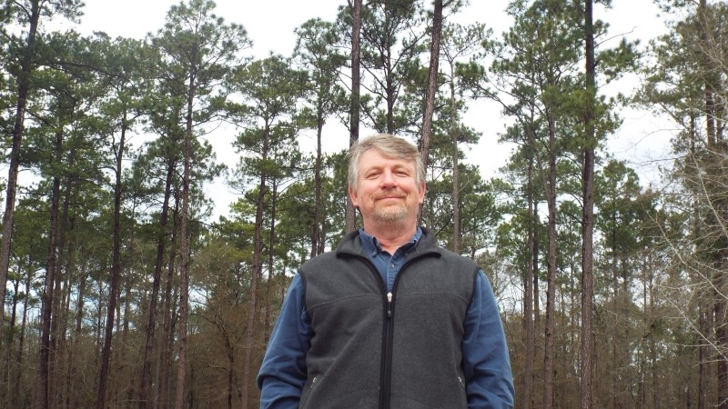 Ft. Stewart wildlife biologist Larry Carlile loves bird-watching. The installation hosts several ornithological trips each year.
