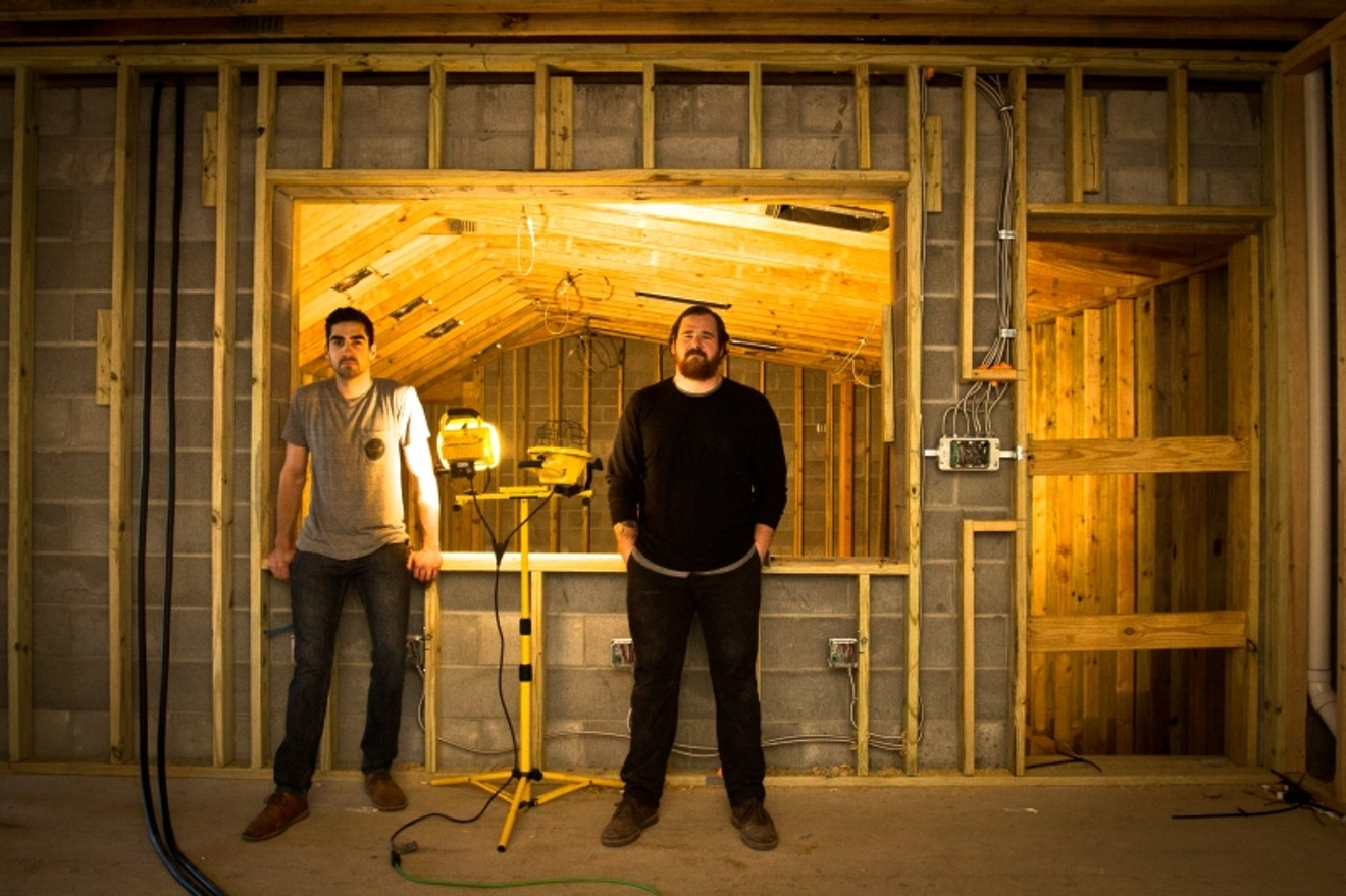 Garage, Inc.: Motlagh, left and Collett, right