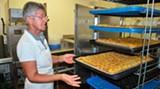 Getting ready for Savannah's Greek Festival: Baklava day at the Hellenic Center of St. Paul's Greek Orthodox Church.