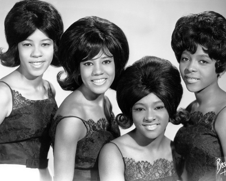 Girl group trailblazers The Crystals in 1963