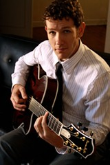 Guitarist Jackson Evans arrived in Savannah, from his native Utah, in 2004.