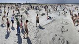 It's a day at the beach for SCAD students April 30