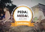 Jane Love and Jen Colestock, SBC's volunteer of the year, will be honored at the third annual Pedal Medal Awards, Thu., May 15, 5:30 p.m. at ThincSavannah