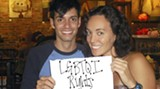 Jesse Morgan and Laura Cahill organized Savannah's first 'Queer Power March'