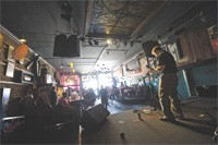 Joe Nelson performs at the 'old' Jinx, soon to move to another location - GEOFF L. JOHNSON