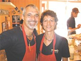 Johnny and Gabby, owners of Zunzi's downtown