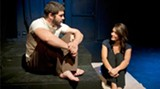 "Josh Gilstrap and Chloe Kirby as Michael and Lainie in ""Two Rooms."" (Photo: Kat Arntzen)"