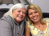 Kathy Kurazawa and her daughter Rita Kalifeh-Teel share their happiness at the graduation of the first group of participants from the Canyon Ranch Institute Life Enhancement Program at Curtis V. Cooper Primary Health Care. Kathy and Rita both serve on the CRI LEP Core Team.