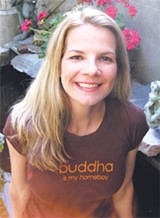 Kelley Boyd of the Savannah Yoga Center