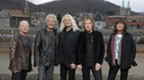 Kevin Cronin, second from left, has been REO Speedwagon's lead singer and chief songwriter since the mid 1970s