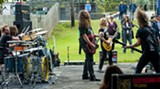 Kylesa began to use twin drummers in 2006. Photo: Geoff L. Johnson