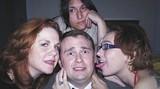 L-R: Lynita Spivey, Justin Kent, Eve Butler, Nicole Koplik in background