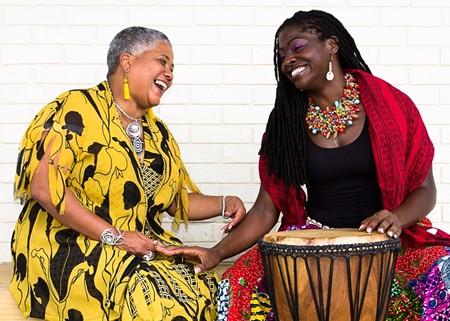 Lady Mahogany Bowers carries on the traditions that she learned from community elders like Lillian Grant-Baptiste - JON WAITS/@JWAITS