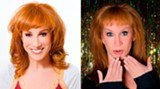 """""""Last Saturday's Rapture kind of fizzled out,"""" says Kathy Griffin, """"but I understand there may be another one coming next year. So I'm trying to get in as many dick jokes as possible until the next Rapture."""""""