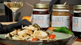 Leoci's new Vidalia Onion relish is a great recipe accompaniment