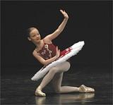 Local student Alston MacGill will dance the role of Clara