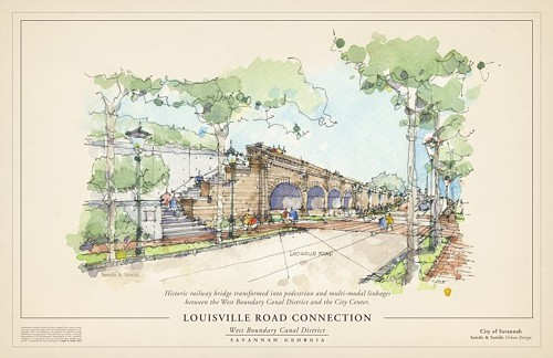 Louisville Road, artists rendering