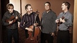 Mark Summer (second from left, the guy with the cello) co-founded the Turtle Island Quartet in 1985
