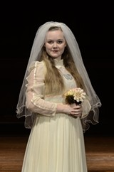Mary Caitlin McMahon as Emily in Asbury's 'Our Town.'