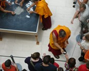 Tibetan Monks closing ceremony
