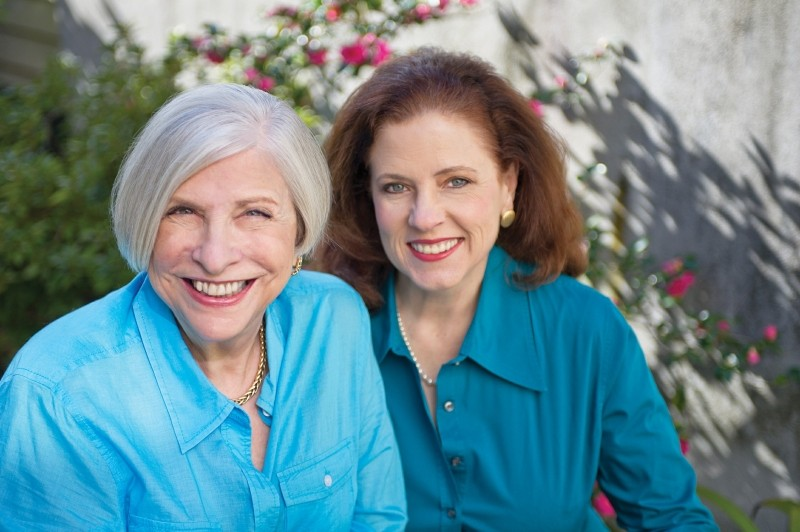 Nathalie Dupree and producer Cynthia Graubart spoke about their most recent book, Southern Biscuits